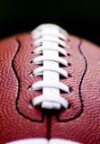 Zamyka futbol amerykański futbol amerykański Obrazy Royalty Free