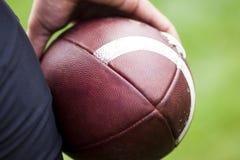 Zamyka futbol amerykański futbol amerykański Fotografia Stock