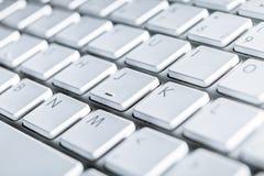 Zamyka laptop klawiatura laptop Obrazy Royalty Free