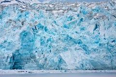 zamyka lodowa lodowiec Zdjęcia Royalty Free