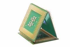 Zamyka ostrosłup JEDNOSTKA CENTRALNA procesory (ostrosłup) Zdjęcie Royalty Free