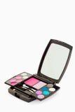 Zamyka paleta makeup paleta Zdjęcia Royalty Free