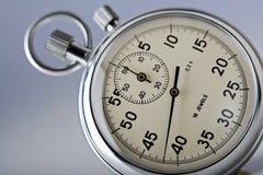 zamyka stopwatch up Fotografia Stock