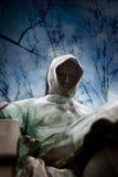 Zamyka strzał statua Anonimowy w Budapest zdjęcie stock