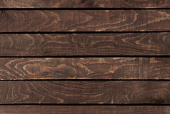 Zamyka up ściana robić drewniany Obraz Royalty Free
