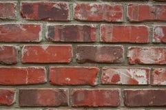 Zamyka up ściana z cegieł tła tekstura Obraz Stock