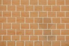 Zamyka up ściana z cegieł tło Fotografia Royalty Free
