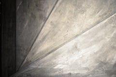 Zamyka up beton spirali schody Obraz Royalty Free