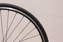 Zamyka up bicyklu koło zdjęcie royalty free