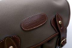 Zamyka up Billingham Hadley mała naramienna torba Zdjęcie Stock