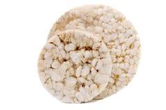 Zamyka up chuchająca ryż przekąska. Obraz Stock
