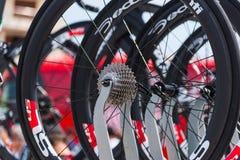 Zamyka up CIipollini NK1K roweru pinion Zdjęcia Royalty Free