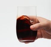 Zamyka up czerwone wino Obrazy Royalty Free