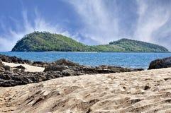 Zamyka up Dwoista wyspa Fotografia Royalty Free