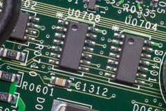 Zamyka up elektronicznego obwodu deska Zdjęcie Stock