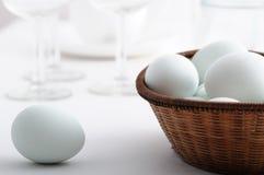 Gotowani jajka Zdjęcia Stock
