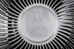 Zamyka up heatsink, abstrakcjonistyczny tło Zdjęcie Royalty Free