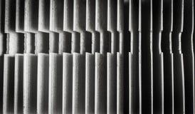 Zamyka up heatsink, abstrakcjonistyczny tło Obraz Royalty Free