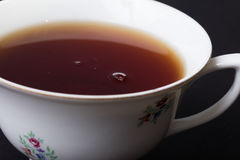 Zamyka up herbaciana filiżanka zdjęcia stock