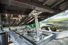 Zamyka up hydrauliczna drymba fotografia stock