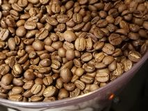 Zamyka up kawowe fasole obraz stock