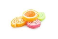 Zamyka up Kolorowy cukierek Obrazy Royalty Free