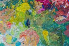Zamyka up kolorowy obraz Obrazy Stock