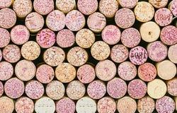 Zamyka up korkowy wino Zdjęcie Stock