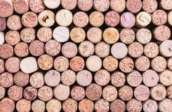 Zamyka up korkowy wino Obraz Stock
