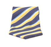 Zamyka up krawat kolorowy pasiastego Zdjęcie Stock