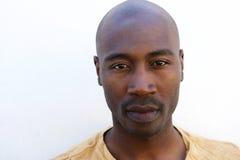 Zamyka up młody afro amerykański facet Fotografia Stock