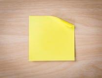 Zamyka up nutowy papier na drewnianym Obrazy Royalty Free
