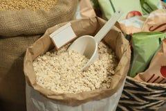 Zamyka up organicznie ziarno Zdrowy karmowy składnik Obraz Royalty Free
