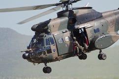 Zamyka up Oryx helikopter Obrazy Royalty Free