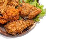 Zamyka up pieczeni kurczaki zdjęcie royalty free