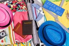 Zamyka up plażowy materiał Zdjęcie Stock