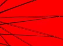Zamyka up pod czerwonym parasolem na świetle słonecznym Obraz Royalty Free