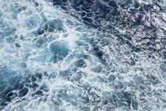 Zamyka Up powierzchnia ocean -3 Obraz Stock