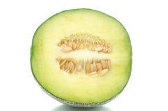 Zamyka up przyrodni melon obraz stock