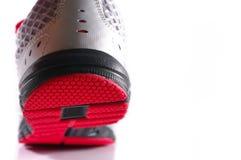 Zamyka up sportów buty odizolowywający obrazy royalty free