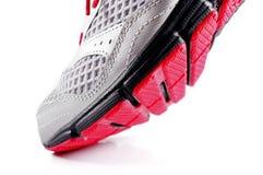 Zamyka up sportów buty odizolowywający obraz royalty free