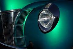 Zamyka up stary samochodowy początkowy Fotografia Stock