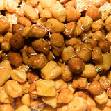 Zamyka up struffoli Obrazy Stock