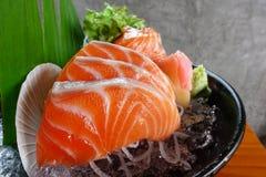 Zamyka up surowy owoce morza Obraz Stock