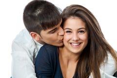 Zamyka up szczęśliwa para. Zdjęcie Stock