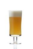 Zamyka up szkło piwo Obrazy Royalty Free
