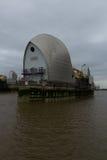 Zamyka up Thames bariera Obraz Royalty Free