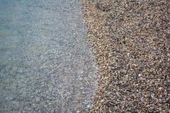 Zamyka Up widzieć Spotyka piasek na plaży zdjęcia royalty free