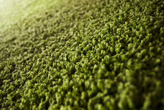 Zamyka up zielony dywan Zdjęcia Stock