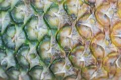 Zamyka w górę ananasowego pełnego ramowego tła Obrazy Stock